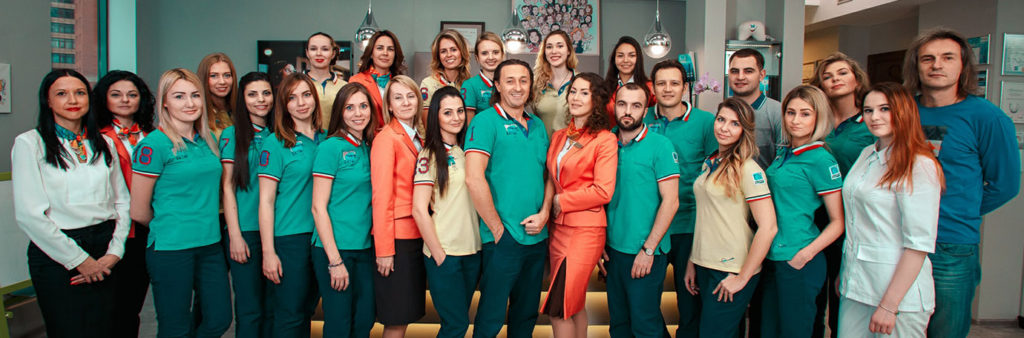Команда ортодонтической клиники Леонида Горбунова