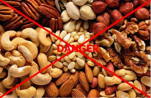 Орехи нельзя есть во время ношения брекетов