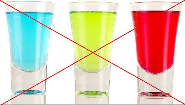 Красящиеся напитки во время ношения брекетов