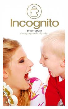 Брекеты на внутреннюю сторону зубов Incognito