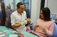 Скидка 75% на первый прием врача-ортодонта
